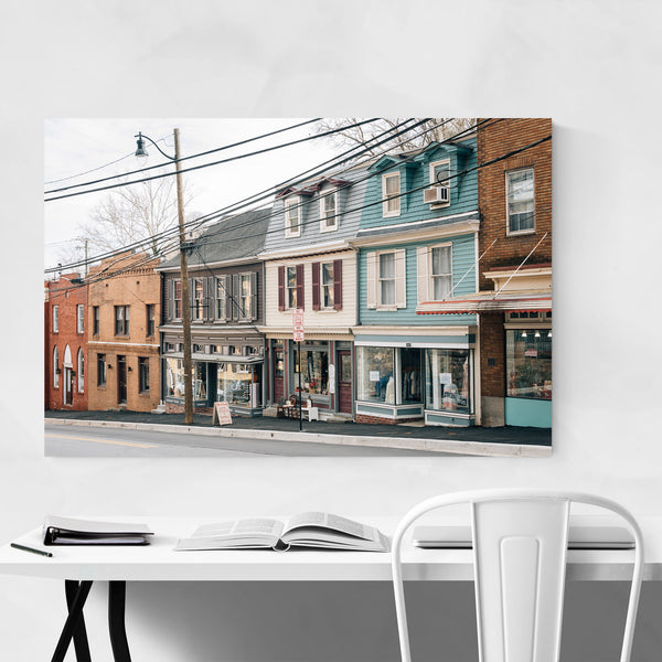 Old Ellicott City Maryland Photo Art Print