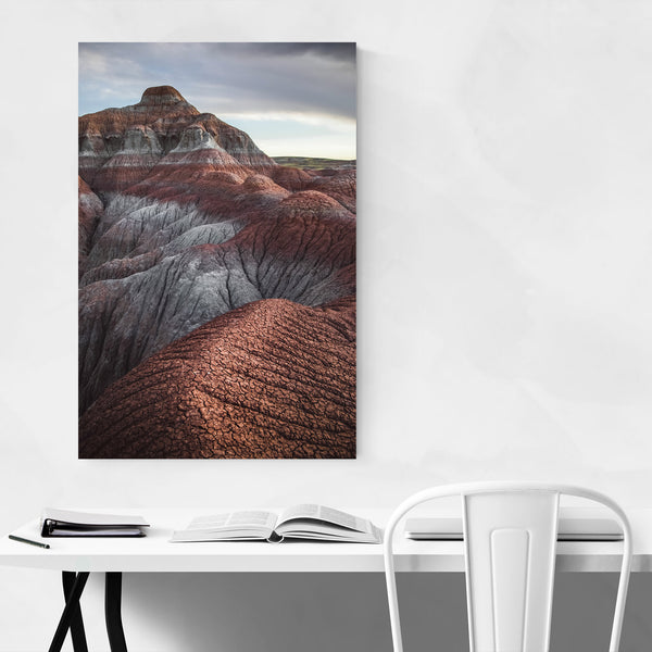 Wyoming Desert Landscape Nature Art Print