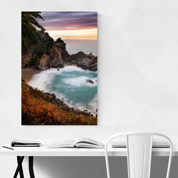McWay Falls Big Sur California Art Print