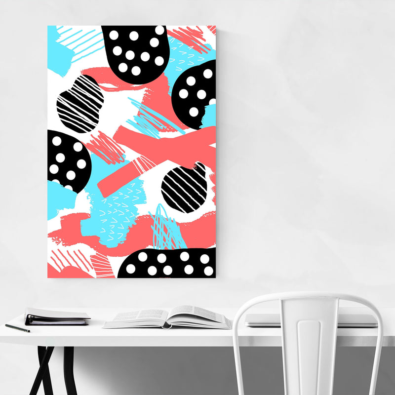 Abstract Geometric Shapes  Art Print