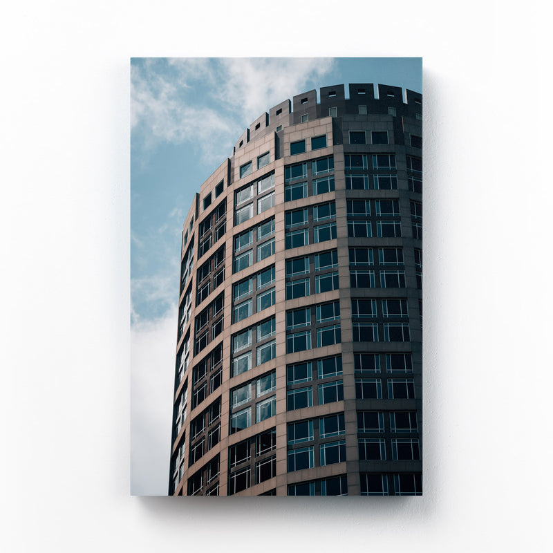 Boston Modern Architecture Canvas Art Print