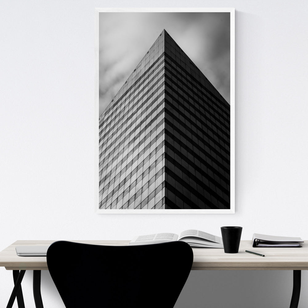 Cleveland, Ohio Architecture Framed Art Print
