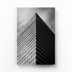 Cleveland, Ohio Architecture Mounted Art Print