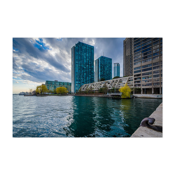 Toronto Skyline Harbourfront Art Print