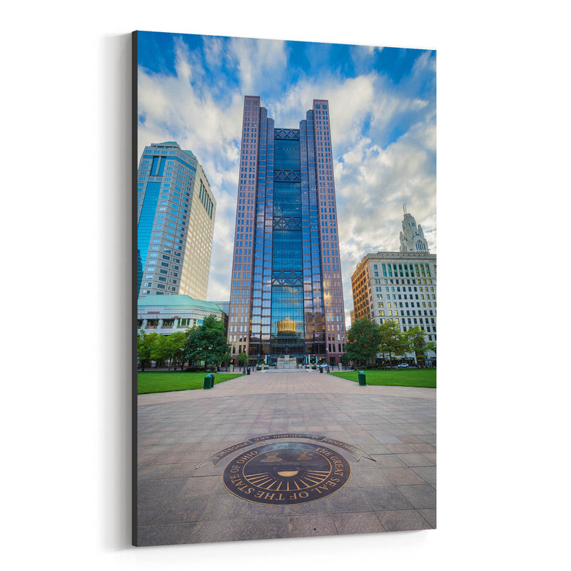 Columbus, Ohio Downtown Canvas Art Print