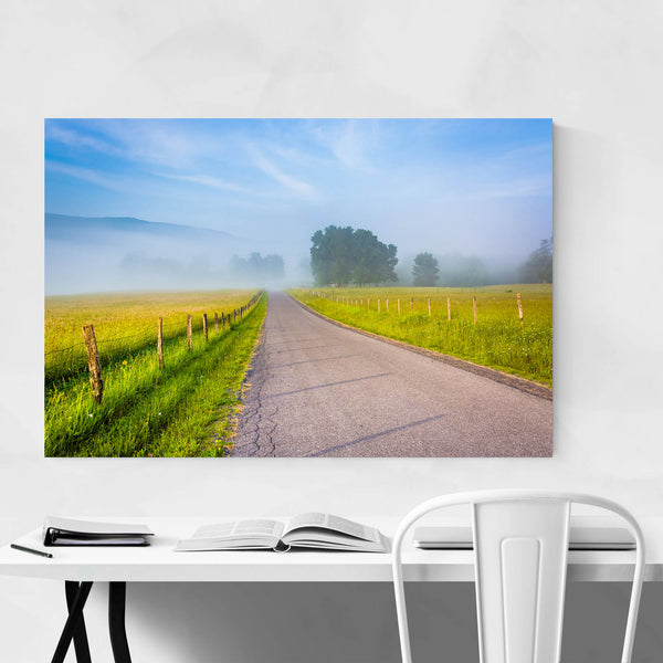 Country Farm Rural Road WV Art Print