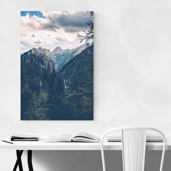 Julian Alps Slovenia Mountains Art Print