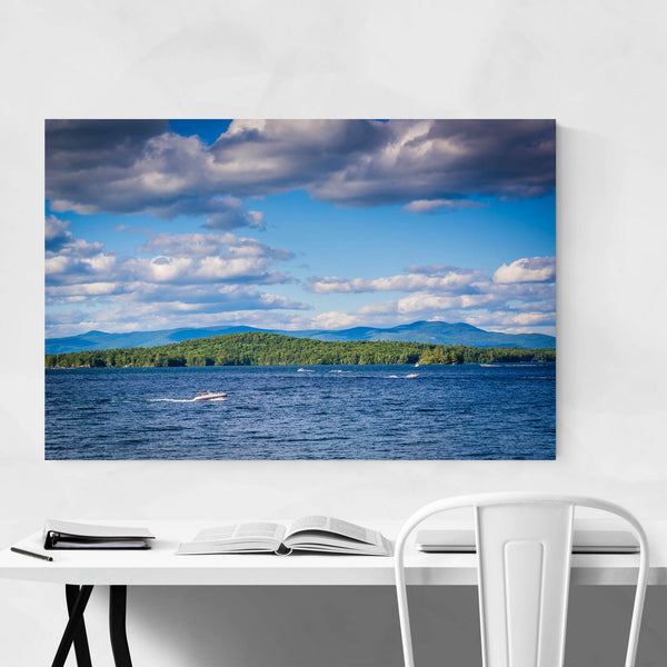 Weirs Beach New Hampshire Lake Art Print
