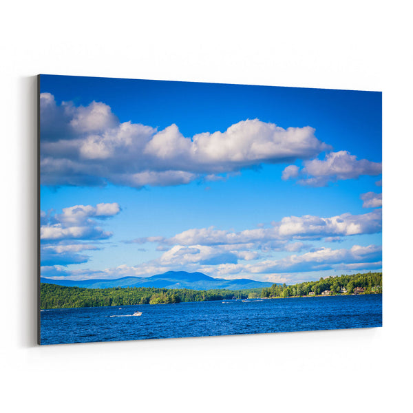 Weirs Beach New Hampshire Lake Canvas Art Print