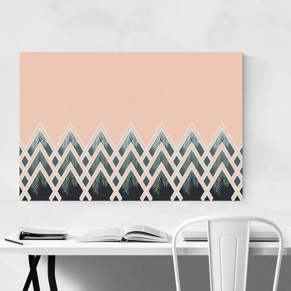 Art Deco Minimal Geometric Art Print
