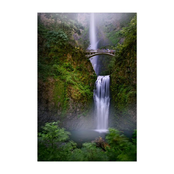 Multnomah Falls Oregon  Art Print