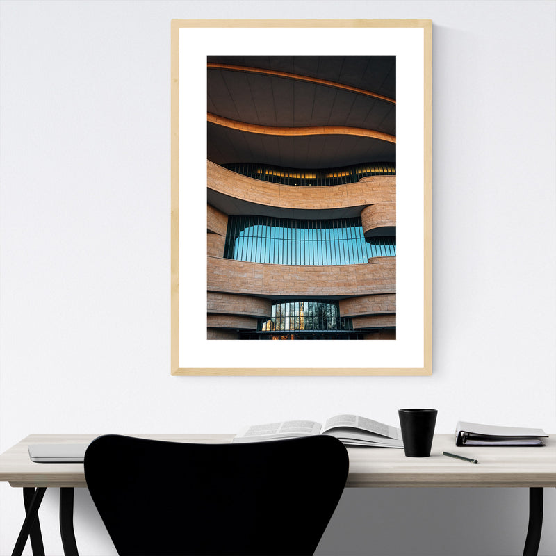 American Indian Museum DC Framed Art Print