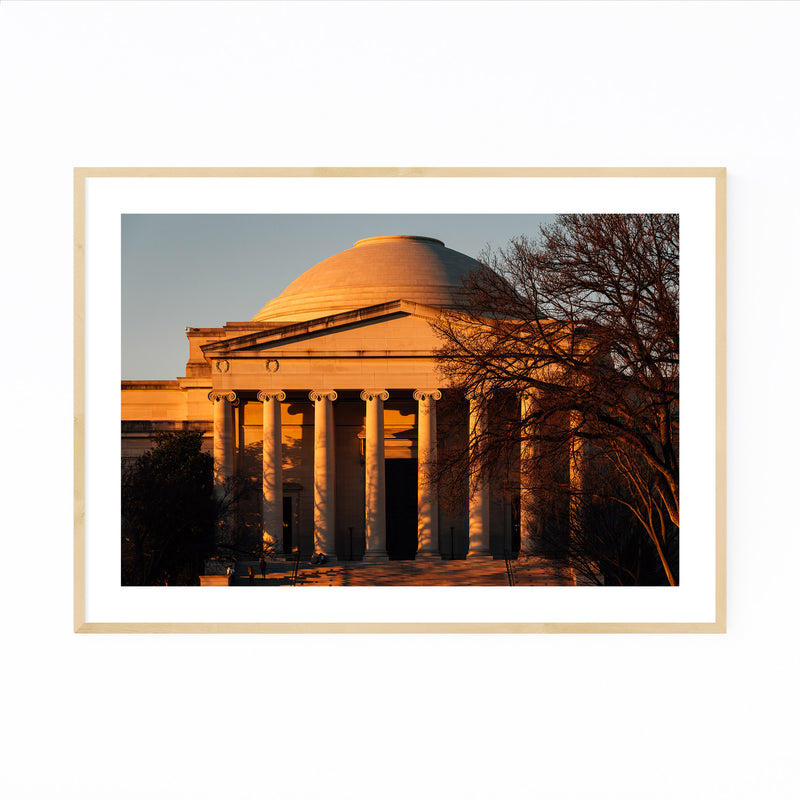 National Gallery of Art DC Photo Framed Art Print