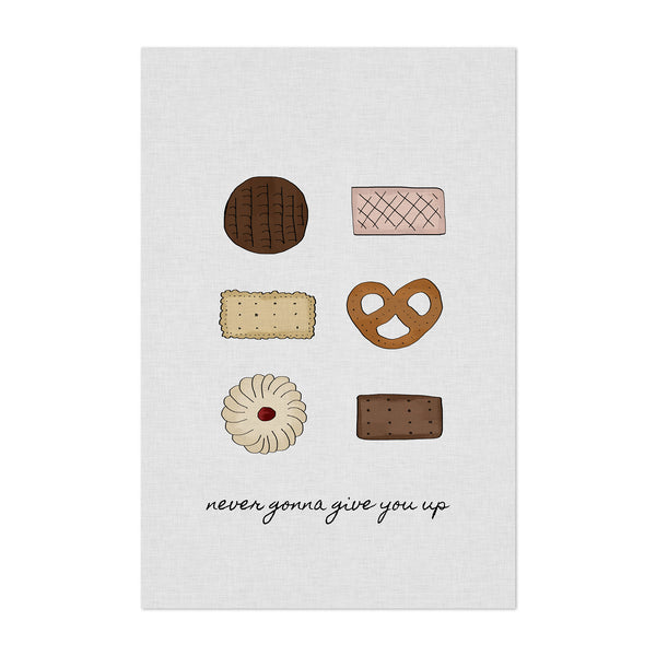 Chocolate Kitchen Food Quote Art Print