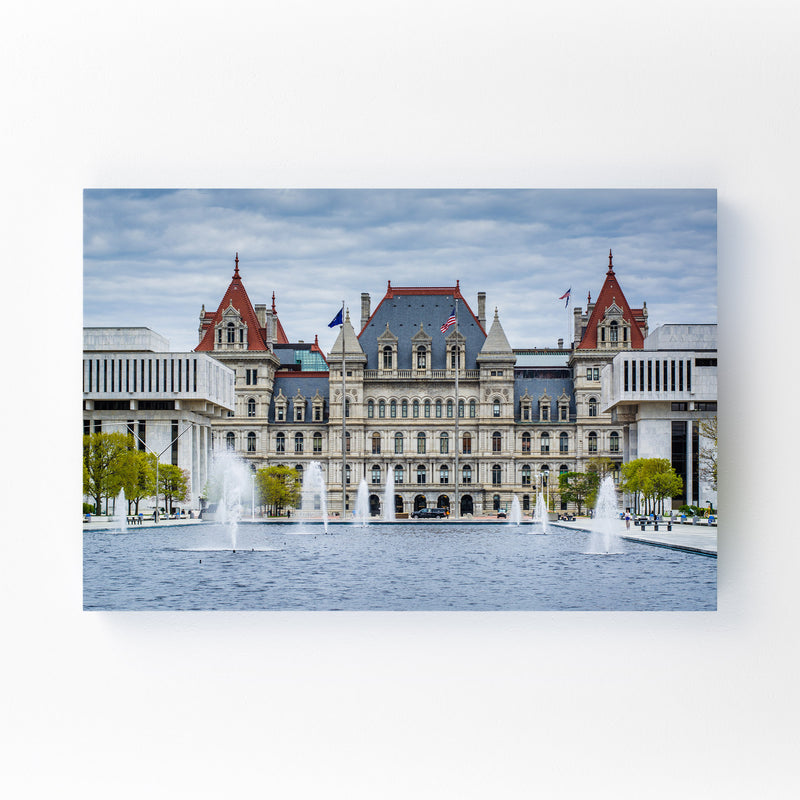 Albany New York State Capitol Canvas Art Print