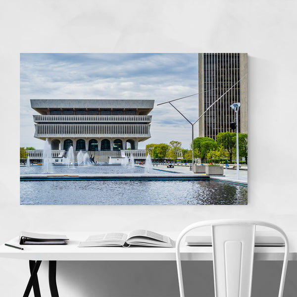 Albany New York State Museum Art Print