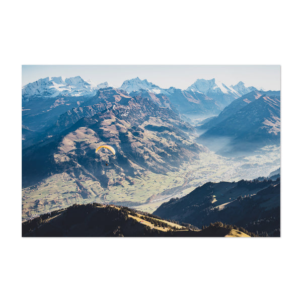 Niesen Mountain Bern Switzerland Art Print