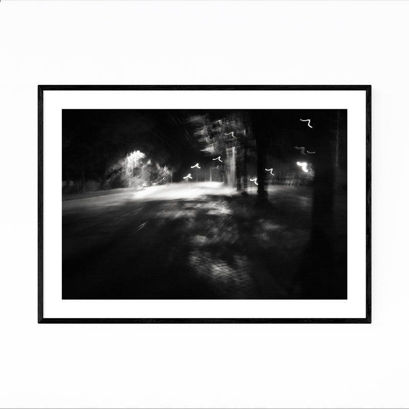 Abstract Blur Photography Framed Art Print