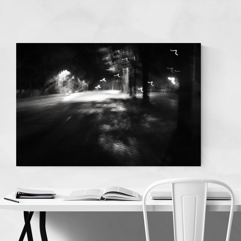 Abstract Blur Photography Art Print