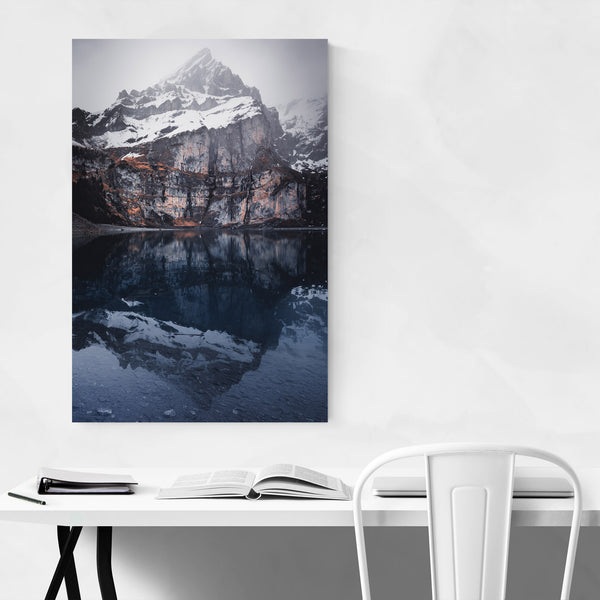 Swiss Alps Mountains Landscape Art Print