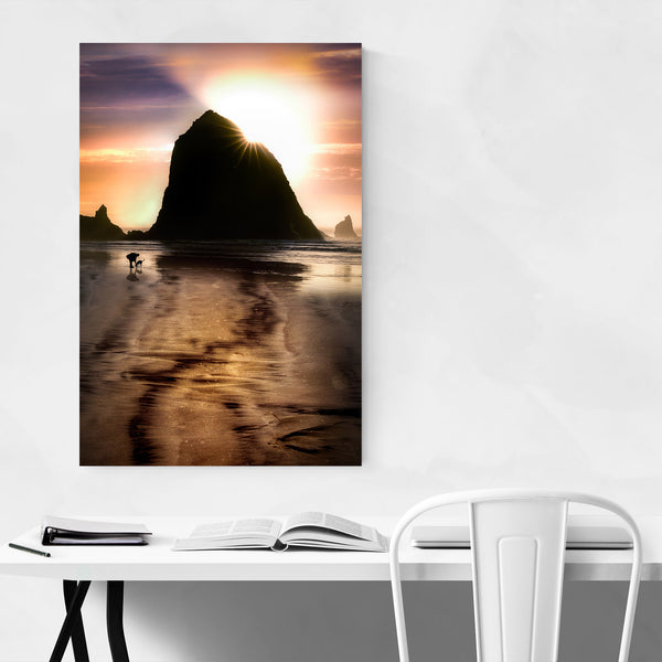Cannon Beach Oregon Coast Nature Art Print