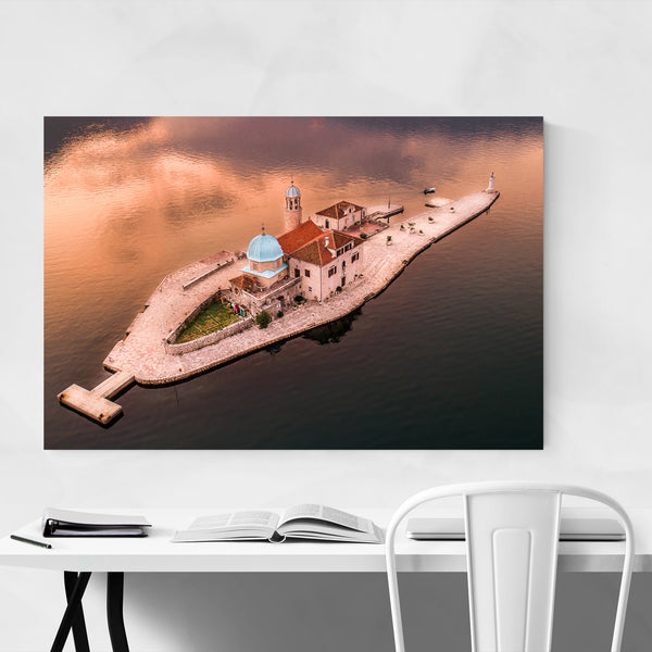 Lady of Rocks Island Montenegro Art Print