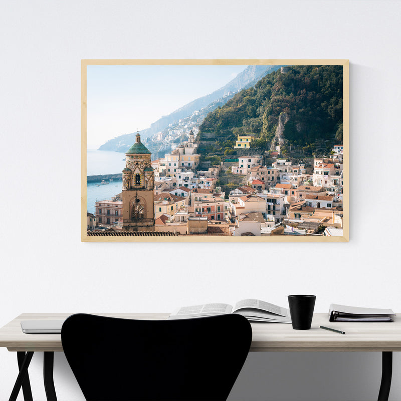 Amalfi Coast Italy Photography Framed Art Print