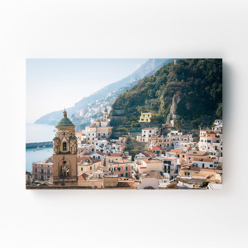 Amalfi Coast Italy Photography Canvas Art Print