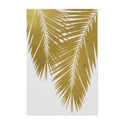 Beach Coastal Palm Tree Leaf Art Print