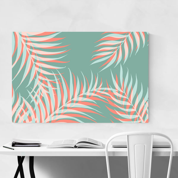 Tropical Palm Floral Botanical Art Print