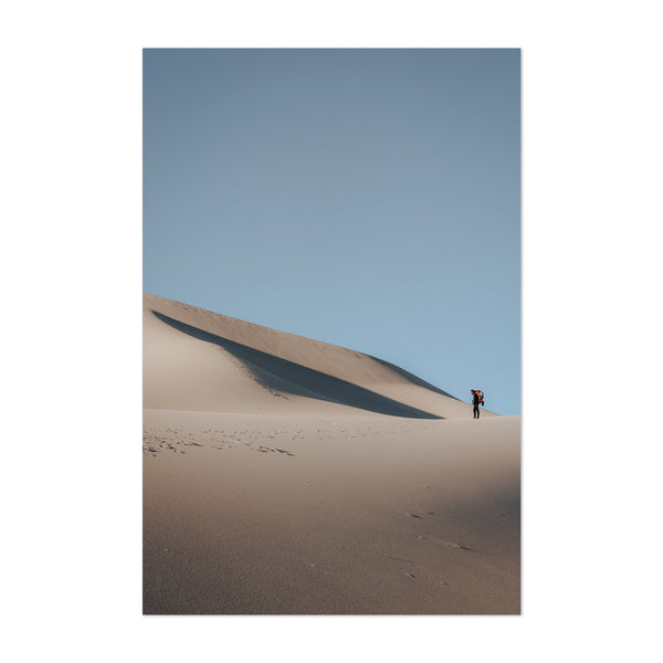 Sand Dunes Death Valley Desert Art Print
