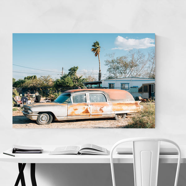 Salton Bombay Beach California Art Print
