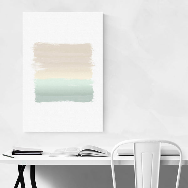 Pastel Abstract Modern Painting Art Print