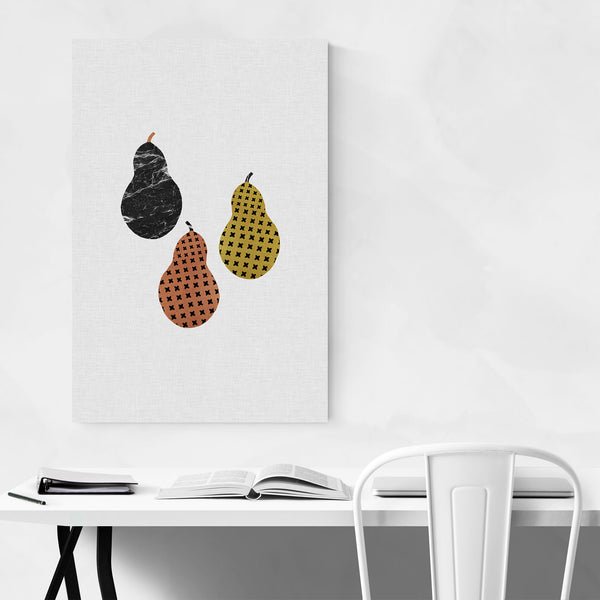 Pear Fruit Kitchen Cooking Food Art Print