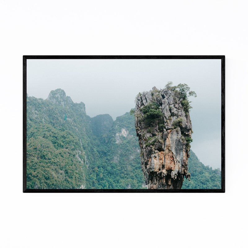 James Bond Phuket Thailand Framed Art Print