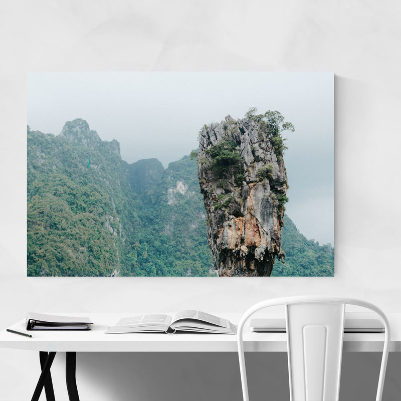 James Bond Phuket Thailand Canvas Art Print