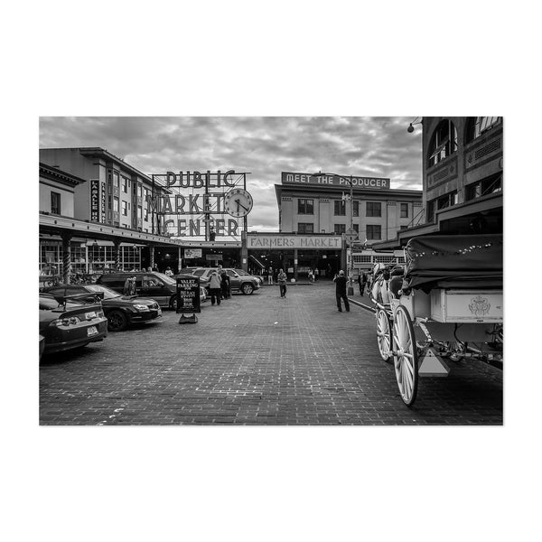 Seattle Pike Place Market Art Print