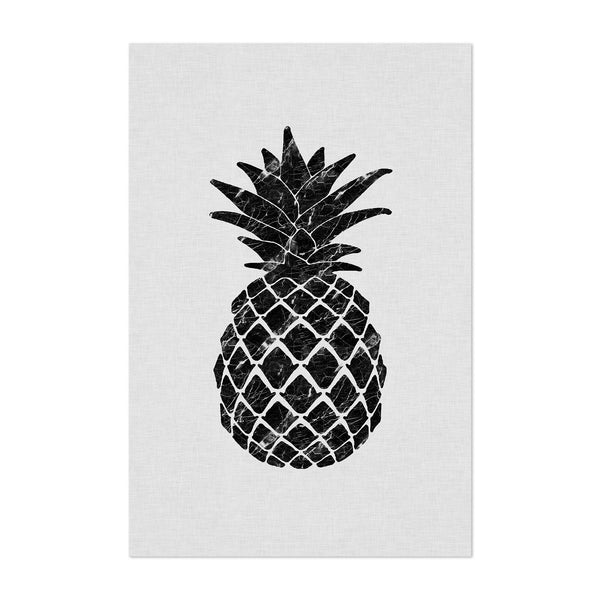 Kitchen Pineapple Fruit Food Art Print