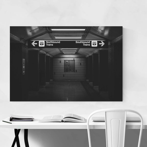 Toronto Subway Station Urban Art Print