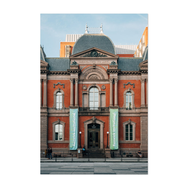 Renwick Gallery Washington DC Art Print