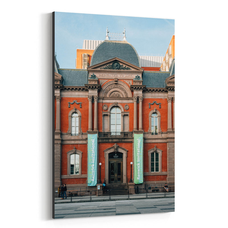 Renwick Gallery Washington DC Canvas Art Print