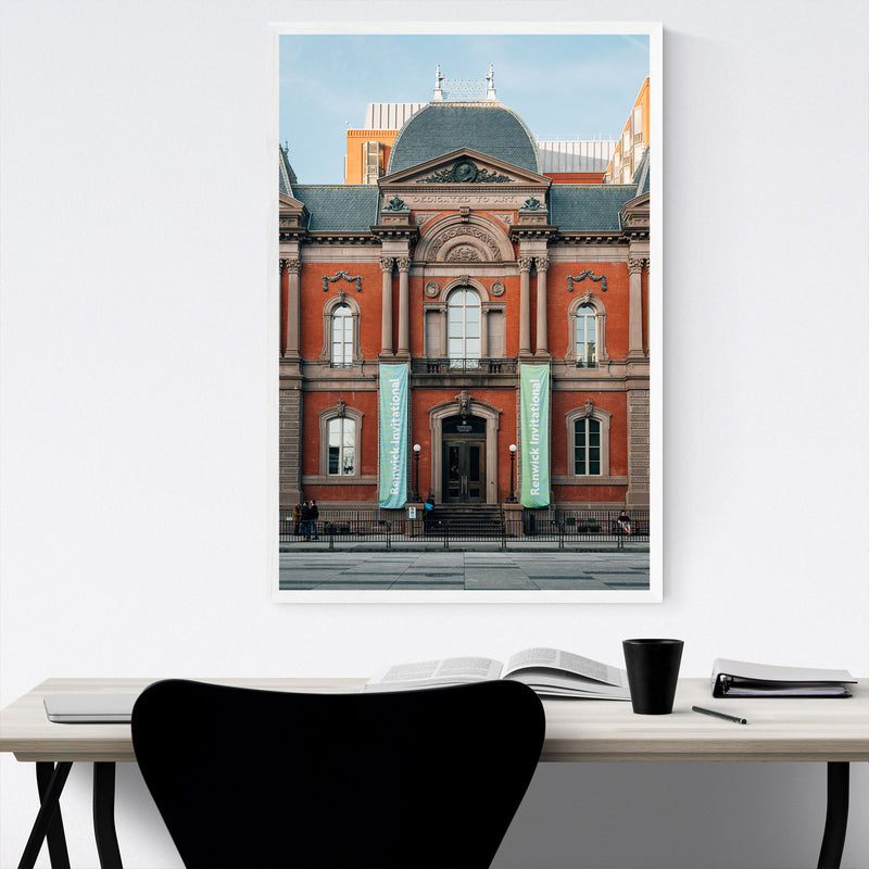 Renwick Gallery Washington DC Framed Art Print