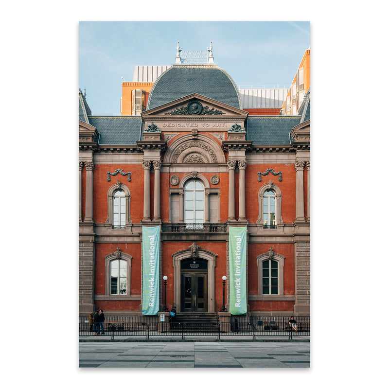 Renwick Gallery Washington DC Metal Art Print