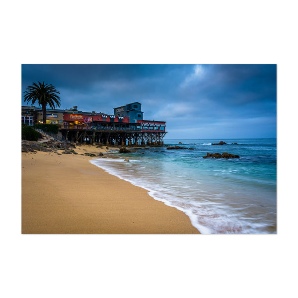 Cannery Row Monterey California Art Print