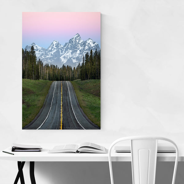 Grand Teton Mountains Wyoming Art Print