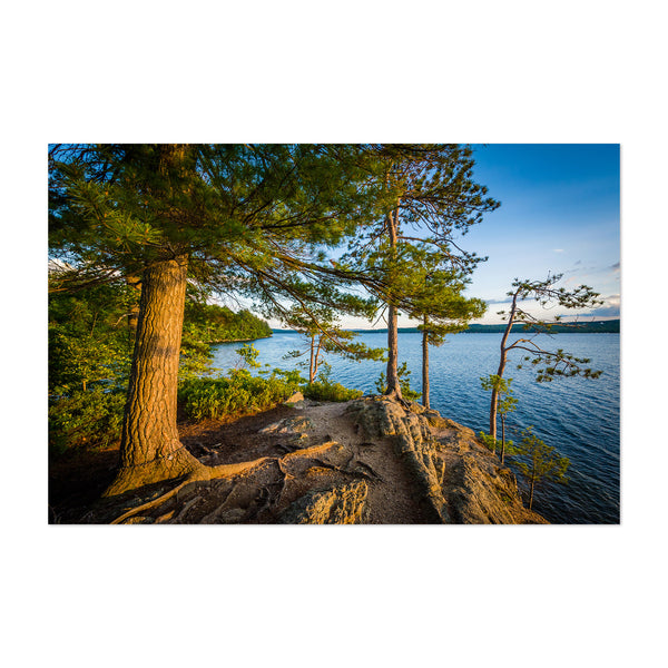New Hampshire Ahern State Park Art Print