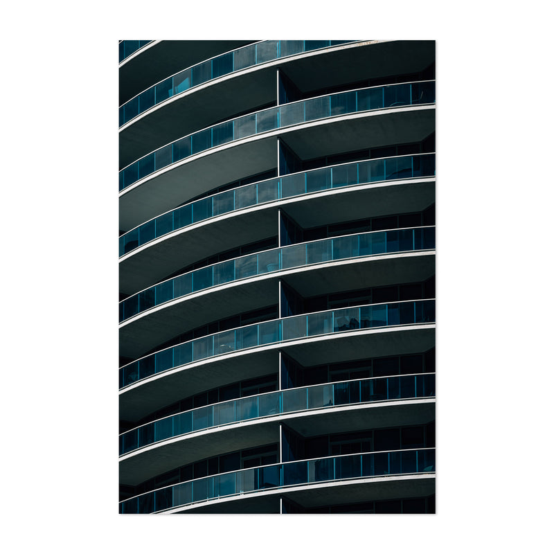 Modern Architecture Abstract Art Print