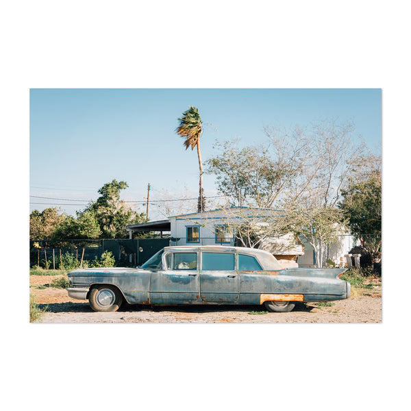 Abandoned Car Salton Sea CA Art Print