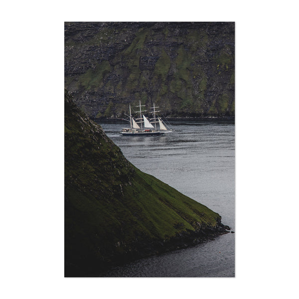 Faroe Islands Landscape Nature Art Print
