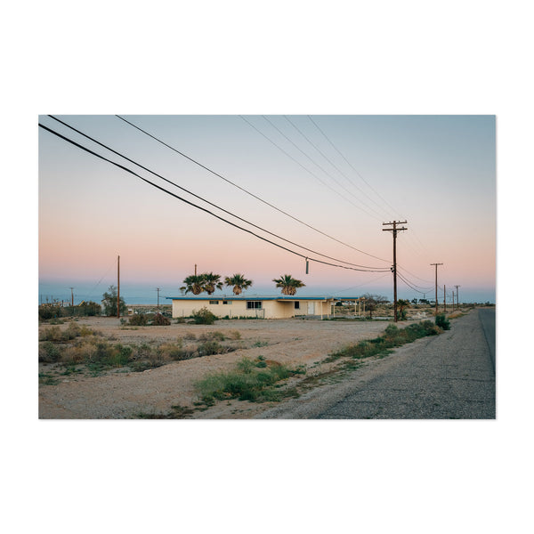 Abandoned Salton Sea California Art Print